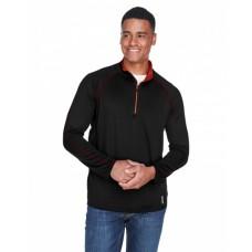 88187 Men's Radar Quarter-Zip Performance Long-Sleeve Top - North End Mens Sweatshirts
