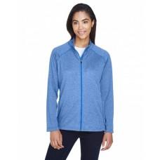 DG420W Ladies' Stretch Tech-Shell® Compass Full-Zip - Devon & Jones Womens Sweatshirts