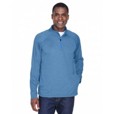 DG440 Men's Stretch Tech-Shell® Compass Quarter-Zip - Devon & Jones Mens Sweatshirts
