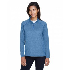 DG440W Ladies' Stretch Tech-Shell® Compass Quarter-Zip - Devon & Jones Womens Sweatshirts