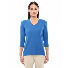 DP184W Ladies' Perfect Fit™ Bracelet-Length V-Neck Top - Devon & Jones Womens Sweatshirts