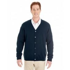 M425 Men's Pilbloc™ V-Neck Button Cardigan Sweater - Harriton Mens Sweaters