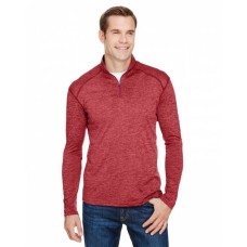 N4010 Men's Tonal Space-Dye Quarter-Zip - A4 Mens Sweatshirts