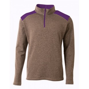 N4094 Men's Tourney Fleece Quarter-Zip Pullover - A4 Mens Sweatshirts