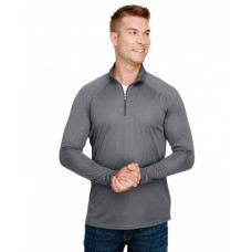 N4268 Adult Daily Polyester 1/4 Zip - A4 Sweatshirts