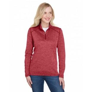 NW4010 Ladies' Tonal Space-Dye Quarter-Zip - A4 Womens Sweatshirts