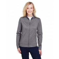 UC400W Ladies' Navigator Heather Performance Full-Zip - UltraClub Womens Sweatshirts
